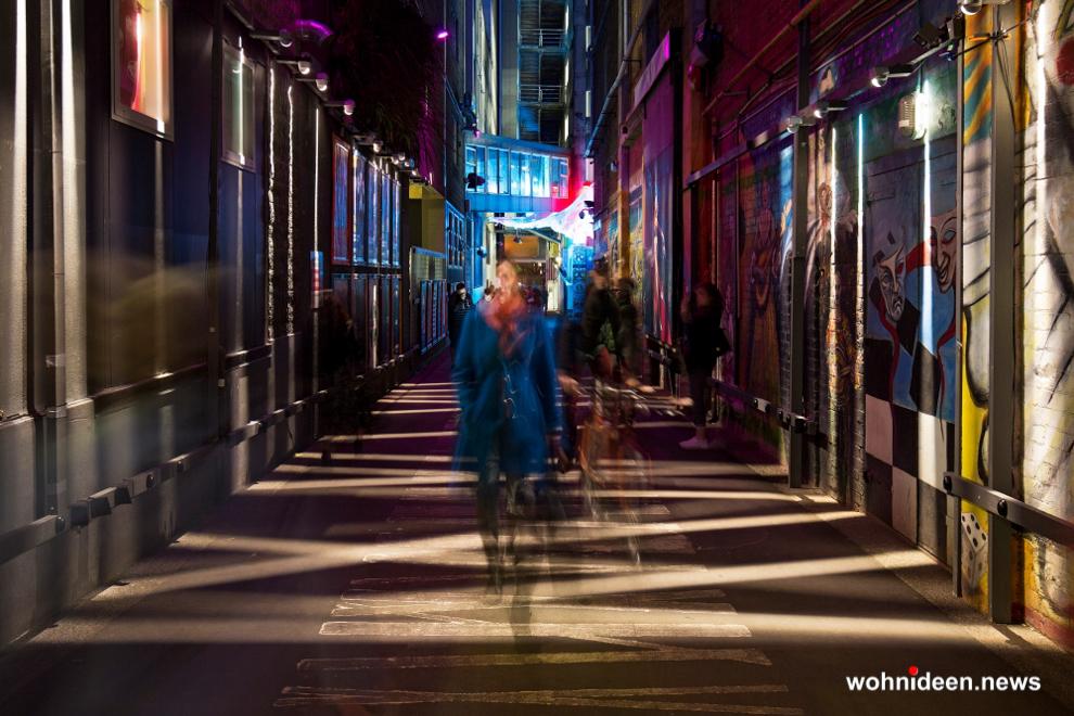 Wallwasher Trick Fassadenbeleuchtung RGB Aussenbeleuchtung - Outdoor Fassadenbeleuchtung RGB - LED-Gebäudebeleuchtung