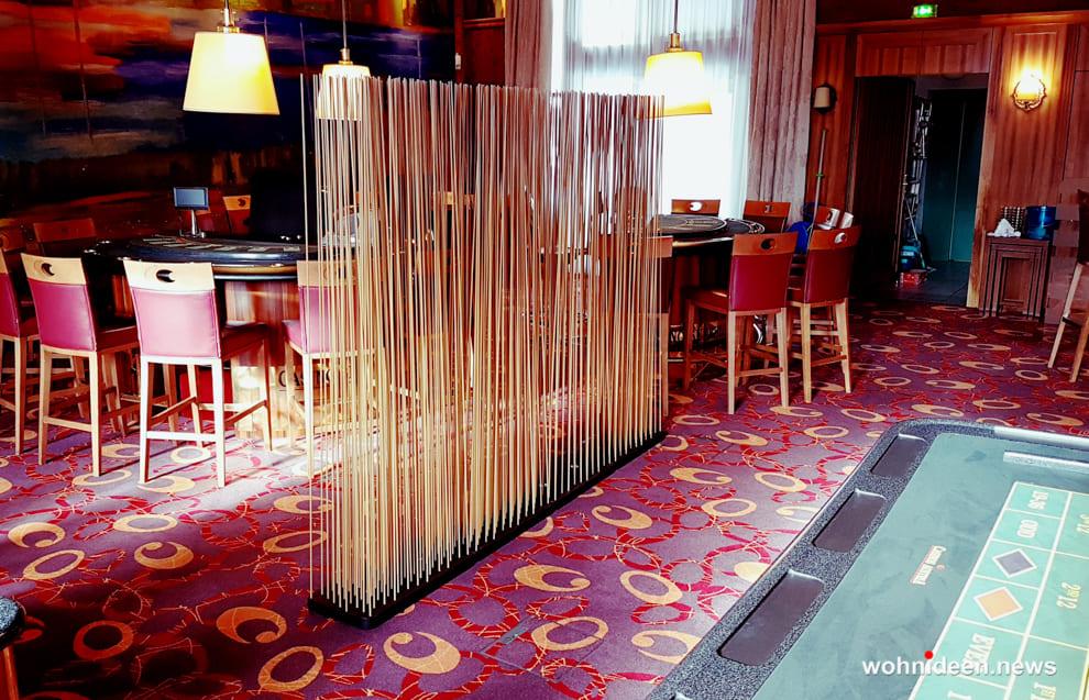 bambus sichtschutzmatte - Bambus Büro Sichtschutz Sunshine Gastronomie