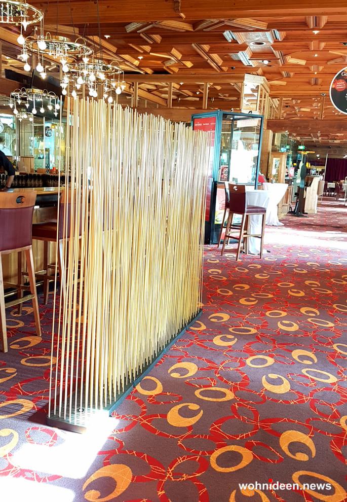 bambusstäbe Ideen - Bambus Büro Sichtschutz Sunshine Gastronomie
