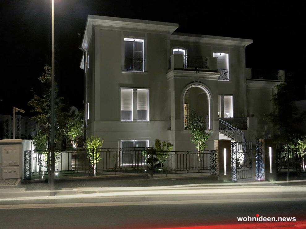exklusive Hausbeleuchtung Fassadenbeleuchtung Aussenbeleuchtung - Outdoor Fassadenbeleuchtung RGB - LED-Gebäudebeleuchtung