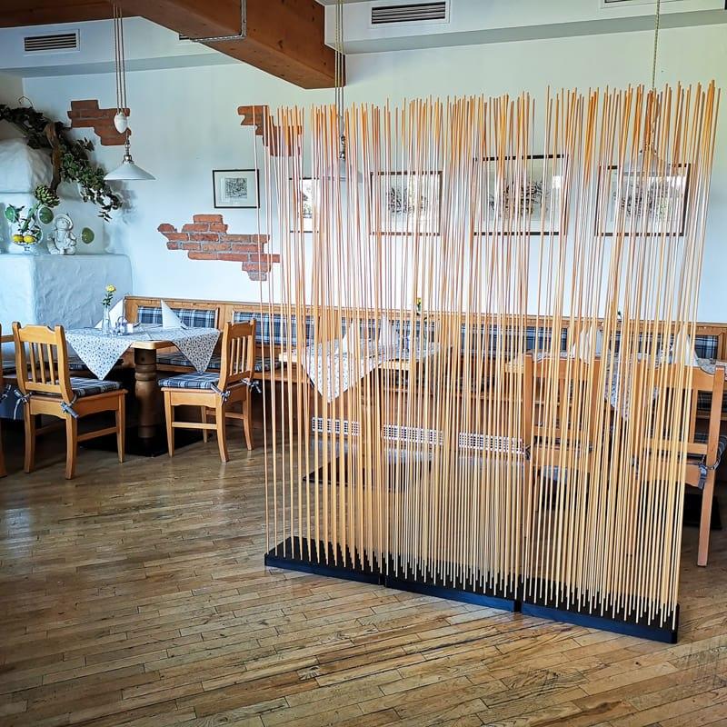Bambus Sichtschutz Bambus Raumteiler Bambus Paravent - Mobile Raumteiler Ideen