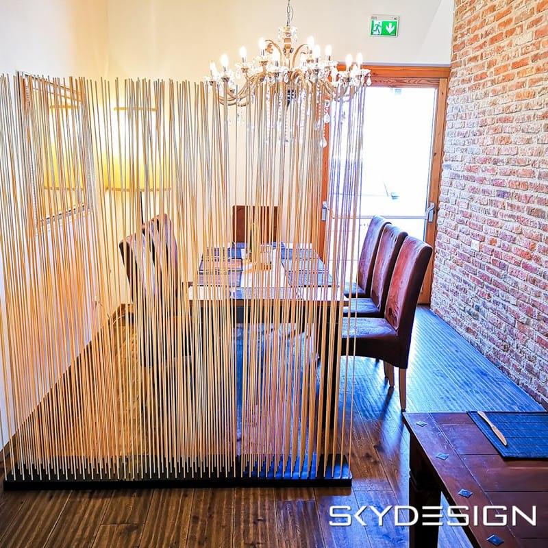 Bambus Sichtschutz Bambus Raumteiler Paravent - Mobile Raumteiler Ideen