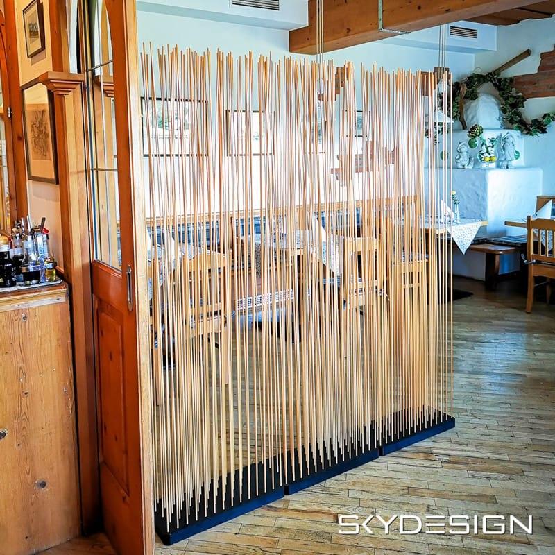 Bambus Sichtschutz Raumteiler Paravent Bambus Bambus - Mobile Raumteiler Ideen