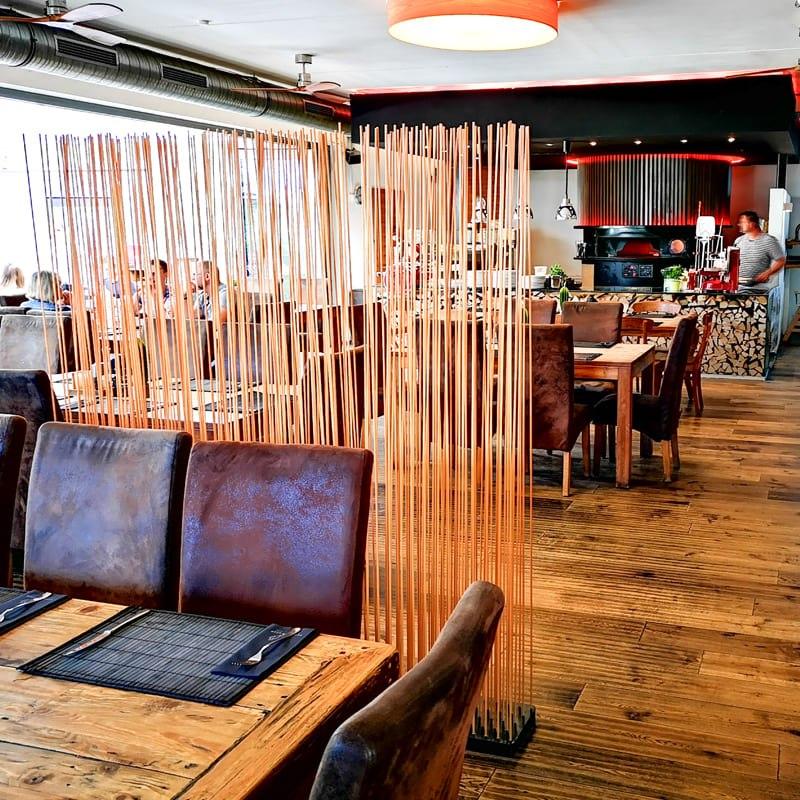 Bambus Sichtschutz Raumteiler Paravent Bambus Holz - Mobile Raumteiler Ideen