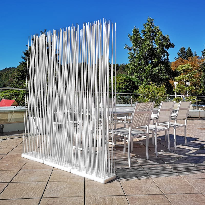 Outdoor Sichtschutz Terrasse Raumteiler Paravent - Mobile Raumteiler Ideen