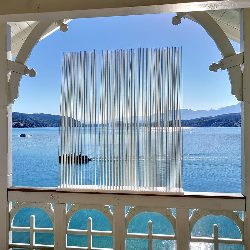 Wasserfester Sichtschutz Raumteiler Paravent Terrasse - Mobile Raumteiler Ideen