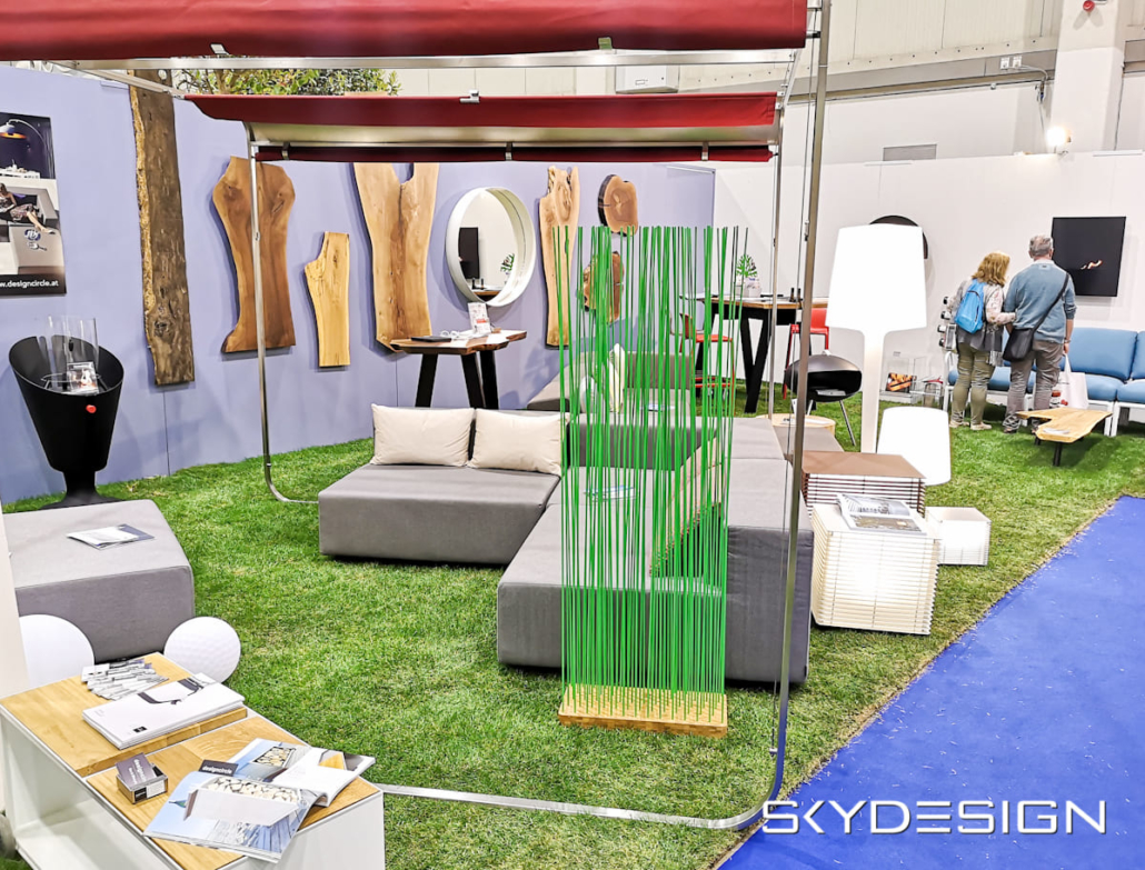 Sichtschutz Garten von Skydesign