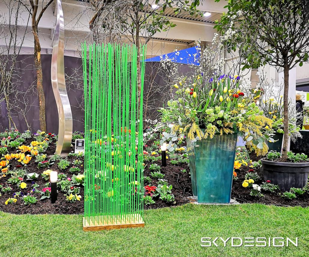 Grüner Sichtschutz Garten