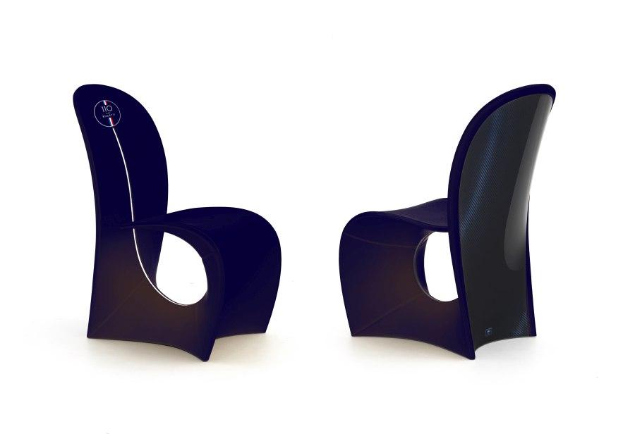 01 Bugatti Home Cobra chair 110 Blue - BUGATTI HOME | SALONE DEL MOBILE 2019