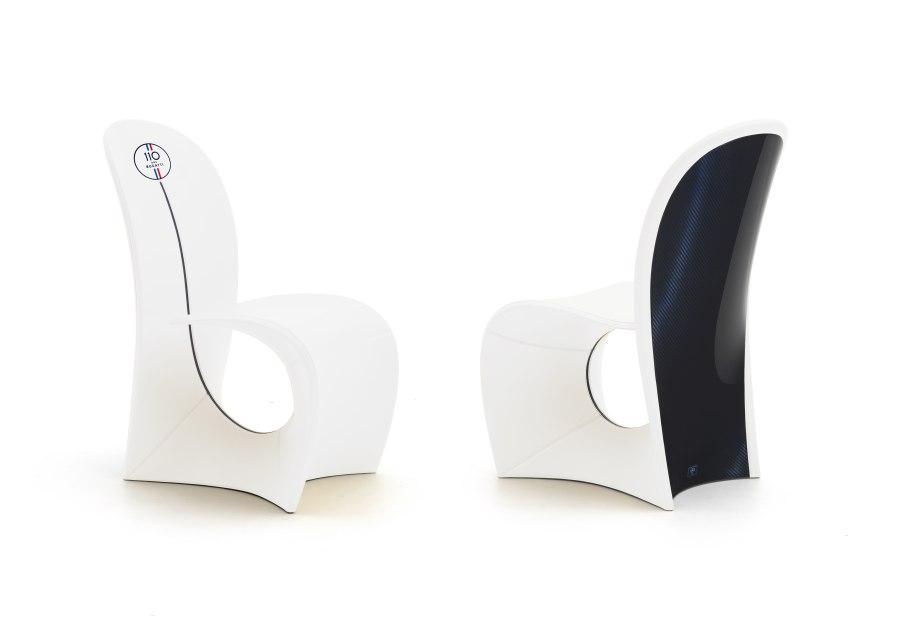 02 Bugatti Home Cobra chair 110 White - BUGATTI HOME | SALONE DEL MOBILE 2019