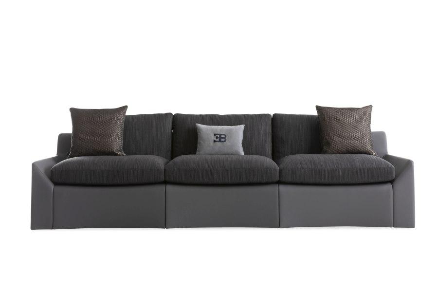 05 Bugatti Home Chiron sofa - BUGATTI HOME | SALONE DEL MOBILE 2019