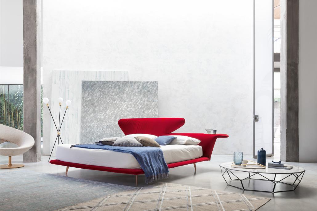 Bonaldo Lovy bed 1 1030x687 - Betten von Bonaldo für himmlische Nächte