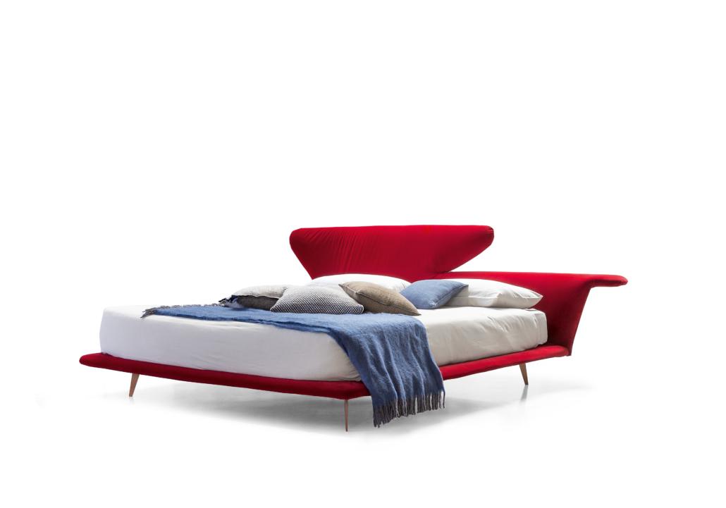 Bonaldo Lovy bed 2 1030x721 - Betten von Bonaldo für himmlische Nächte