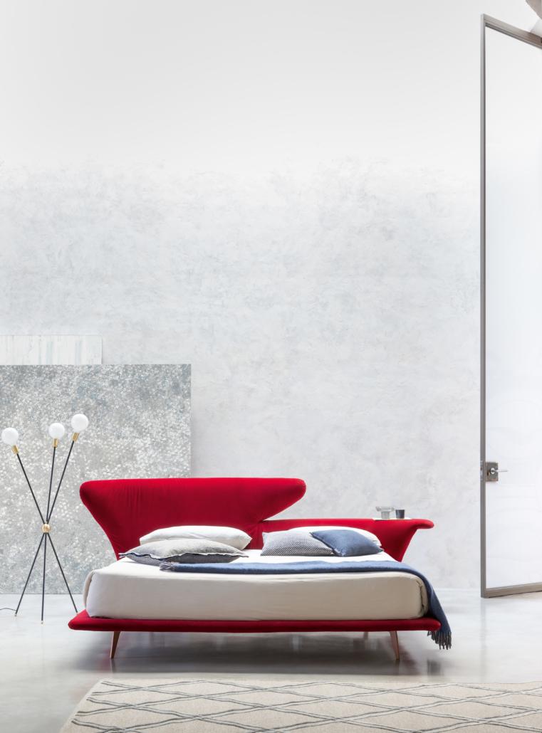 Bonaldo Lovy bed 4 761x1030 - Betten von Bonaldo für himmlische Nächte
