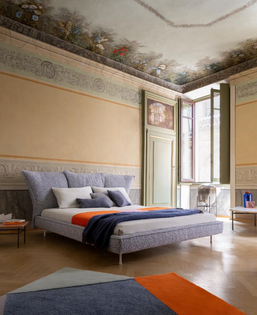 Bonaldo Madame C bed 1 843x1030 - Betten von Bonaldo für himmlische Nächte