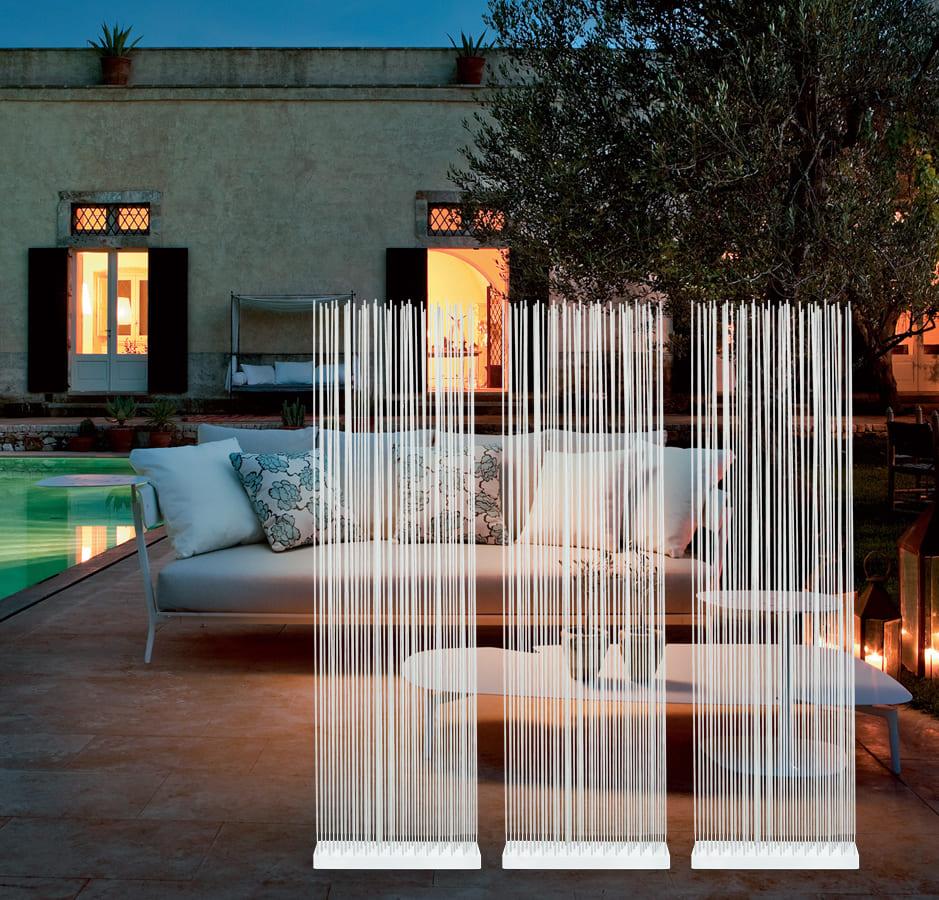 Garten Sichtschutz weiss Wasserfeste Sitzgarnitur für Aussen - Sichtschutz für den Garten und für die Terrasse