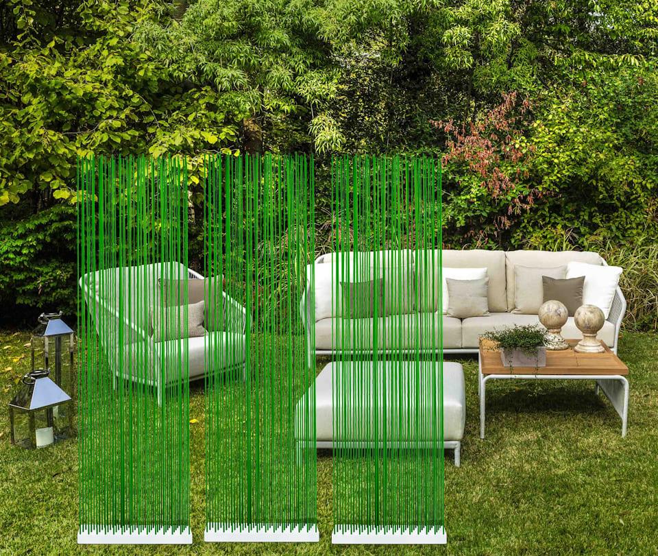 Gartenzäune und Sichtschutz in Grün Gartenmöbel - Sichtschutz für den Garten und für die Terrasse