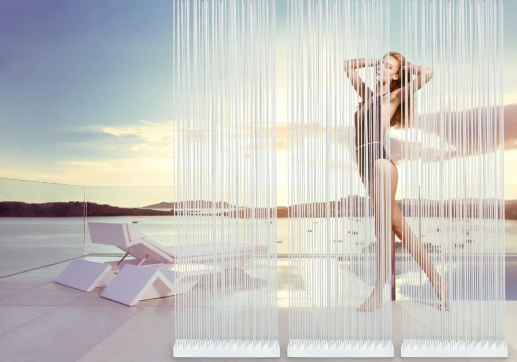 skydesign sichtschutz terrasse freistehend