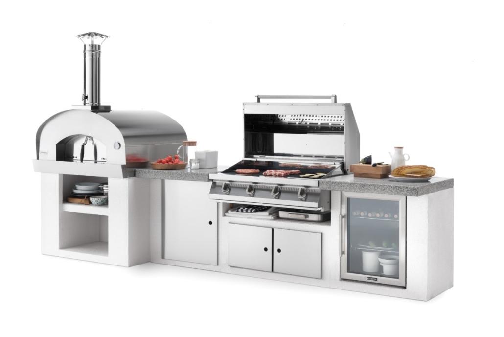 Palazzetti cucina modulare da esterno Cooki composizione DSC9504B 02 2019 Outdoor Küche 1030x688 - Outdoor Küchen | Zusammensein unter freiem Himmel