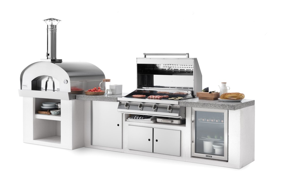 Palazzetti cucina modulare da esterno Cooki composizione DSC9504B 02 2019 Outdoor Küche - Home