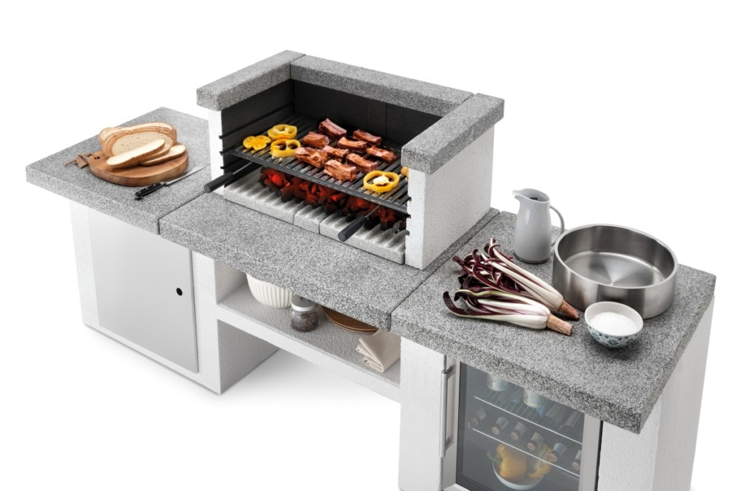 Palazzetti cucina modulare da esterno CookieDSC9365 02 2019 Outdoor Küche 1030x688 - Outdoor Küchen | Zusammensein unter freiem Himmel