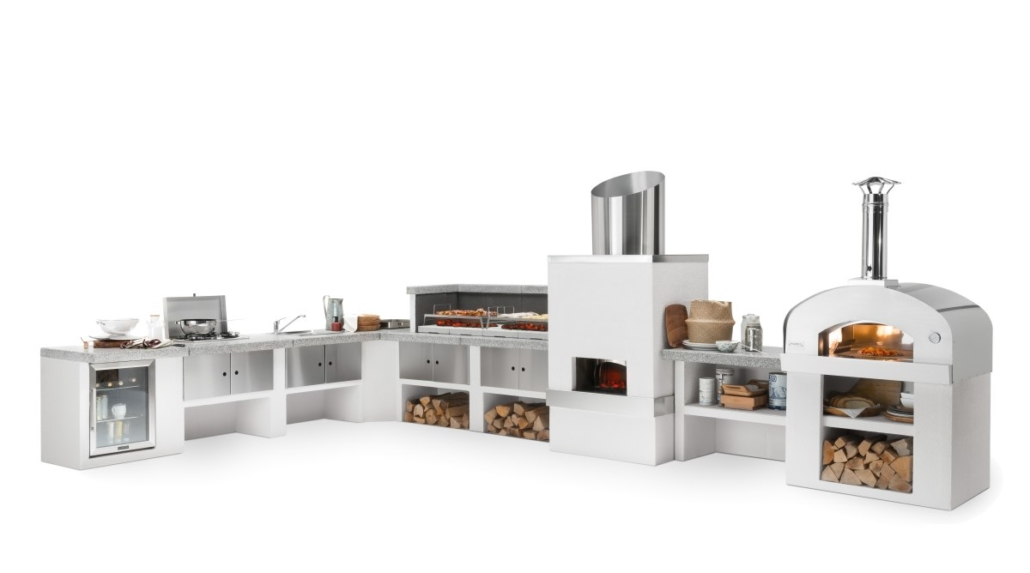 Palazzetti cucina modulare da esterno Cookie composizione angolare DSC9456 02 2019 Outdoor Küche 1030x573 - Outdoor Küchen | Zusammensein unter freiem Himmel
