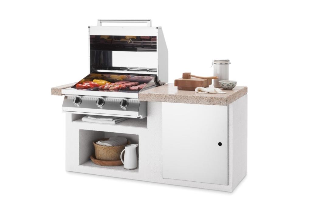 Palazzetti cucina modulare da esterno Cookie modulo plancha Outdoor Küche 1030x687 - Outdoor Küchen | Zusammensein unter freiem Himmel