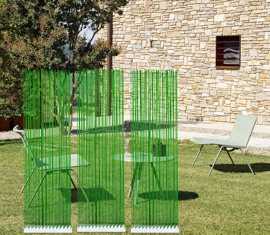 Sichtschutz Garten in Grün von Skydesign - Sichtschutz für den Garten und für die Terrasse