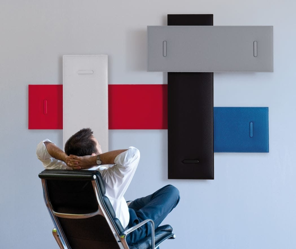 Schalldämmung Büro in verschiedenen Farben