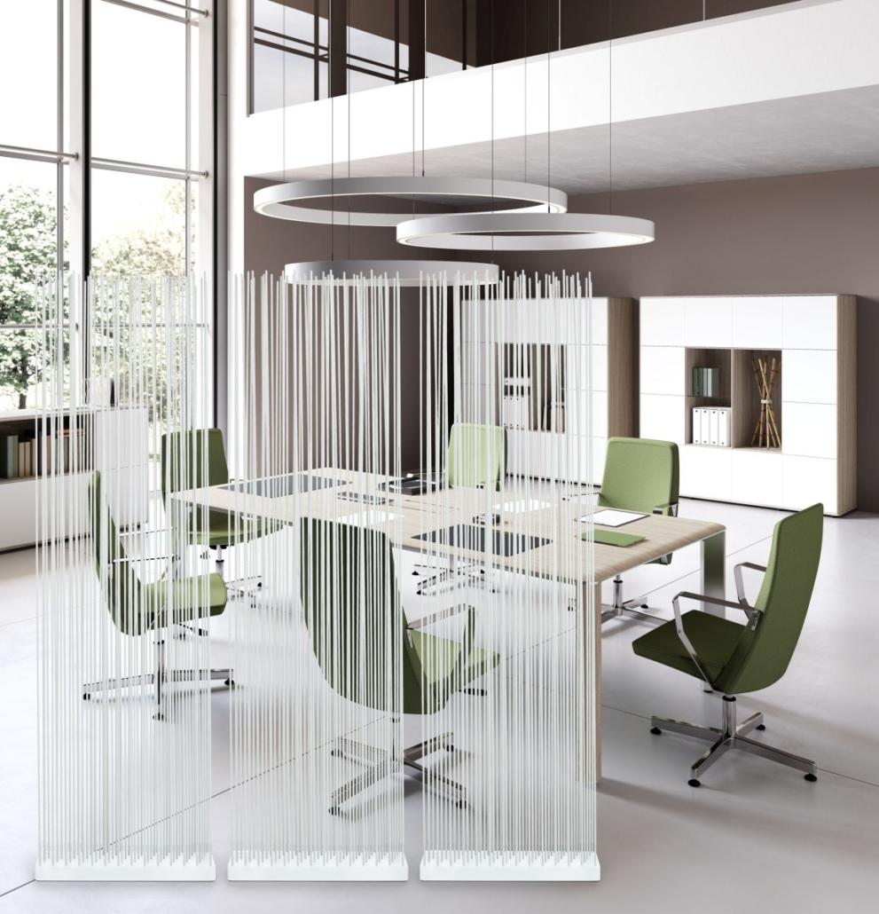 exklusive Bürpmöbel Ideen Office Einrichtung Sichtschutz 991x1030 - Büroeinrichtung modern | Individuelle Premium Möbel