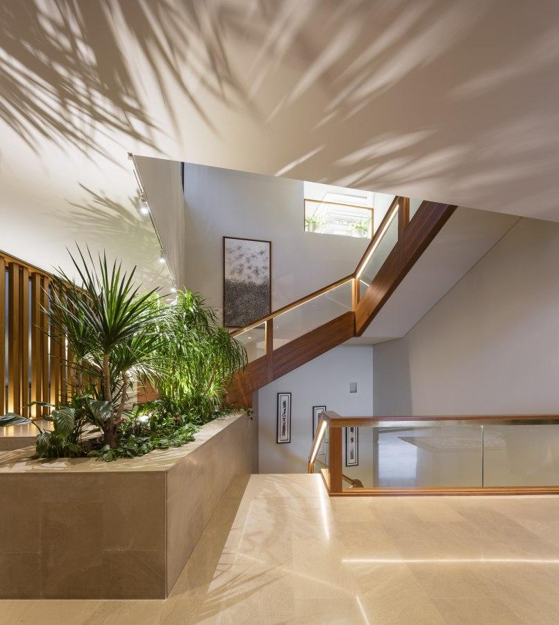 Ritmonio Three Gardens House AGi Architects 11 - Ritmonio Diametro35 vergoldene Oberfläche für das Three Gardens House (Kuwait)