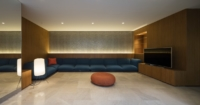 Ritmonio Three Gardens House AGi Architects 9 - Ritmonio Diametro35 vergoldene Oberfläche für das Three Gardens House (Kuwait)