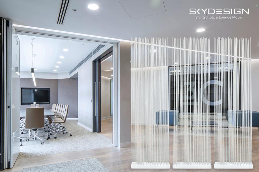 Sichtschutz Ordinationseinrichtung 1030x687 - Wartezimmer Einrichtung: Die perfekte Ordination mit dem skydesign Raumteiler