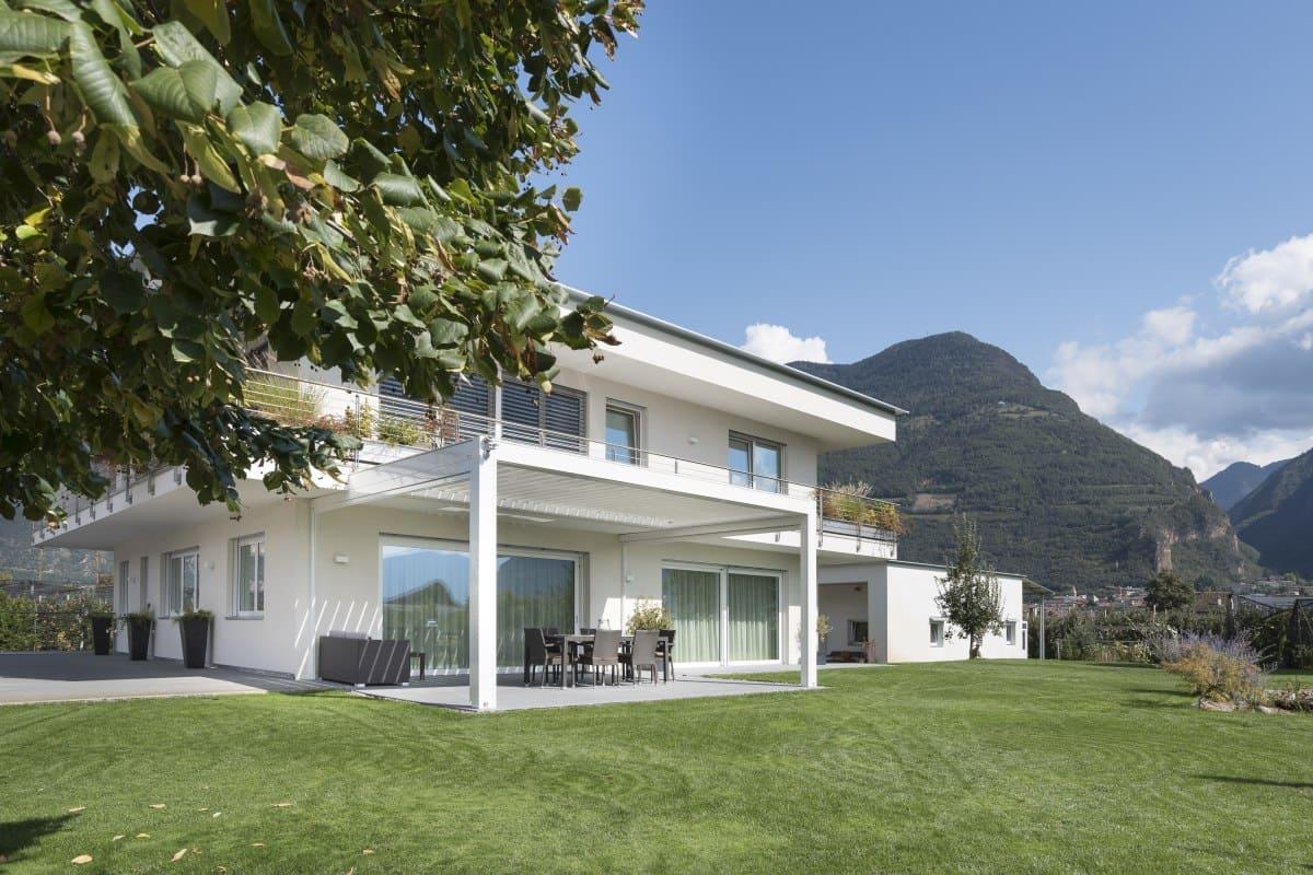 Terrassendach Terrassendach Lamellendach - Designer Pergola mit verstellbaren Lamellen