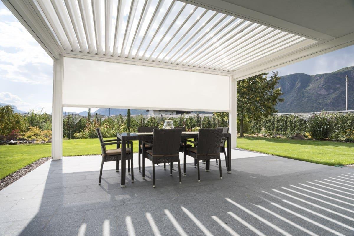 pic7 Kedry Prime KE terrassenüberdachung - Designer Pergola mit verstellbaren Lamellen