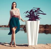Vasen in modernen Formen für Blumen und Deko BYE BYE 1 Vasen Blumenvasen Blumengefaesse - Vasen Shop Design Pflanzgefäße | Blumentöpfe mit Licht