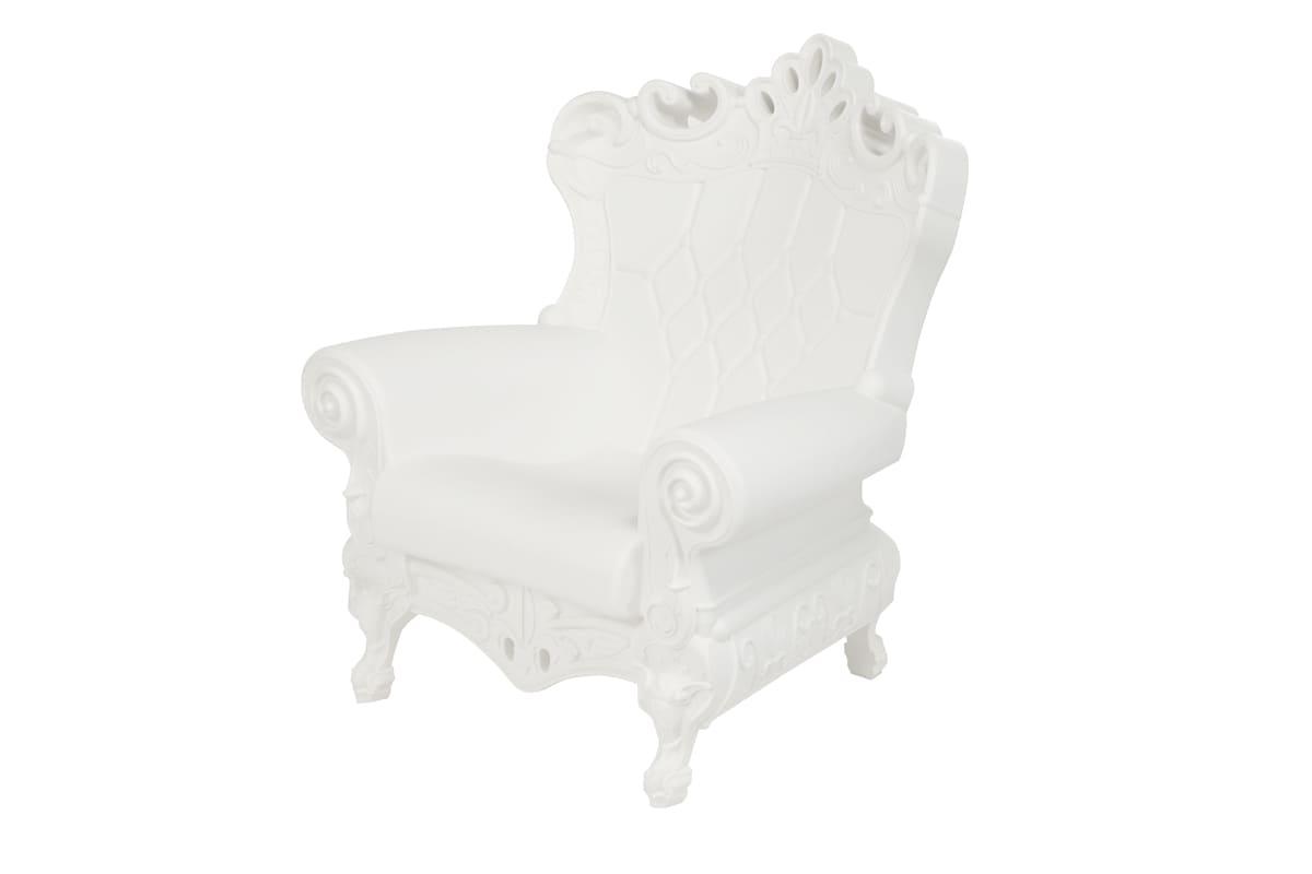 Barock Queen of Love Sessel Kunststoff - Barock Stuhl aus Kunststoff in verschieden Farben | Design of Love