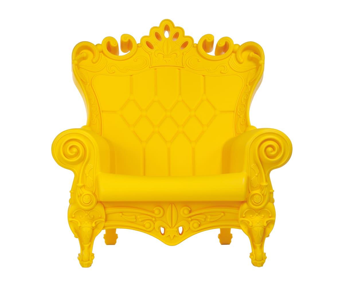 Barock Sessel Kunststoff Gelb - Barock Stuhl aus Kunststoff in verschieden Farben | Design of Love