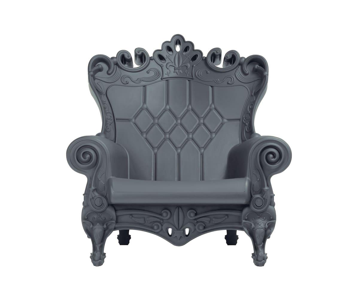 Barock Sessel Kunststoff Grau - Barock Stuhl aus Kunststoff in verschieden Farben | Design of Love