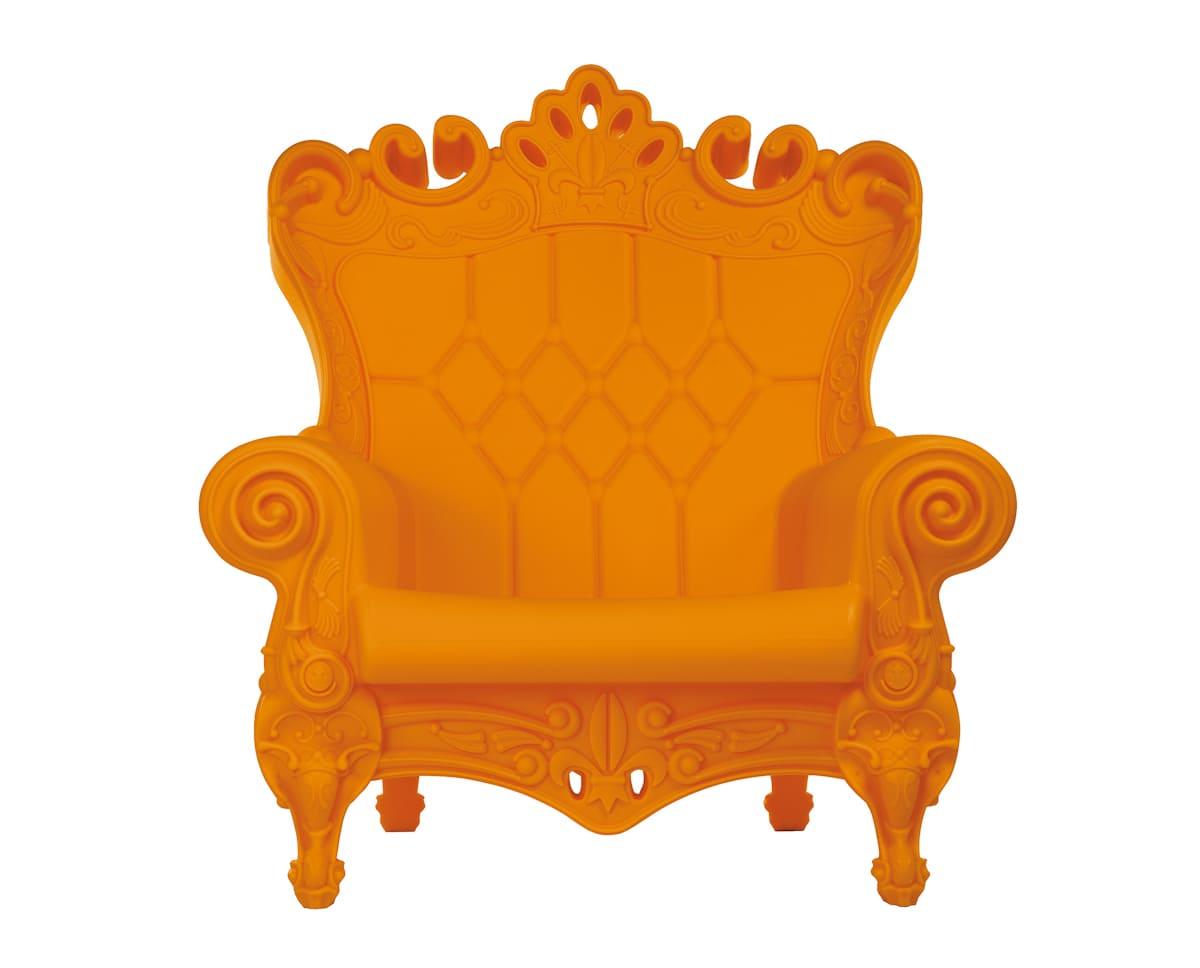 Barock Sessel Kunststoff Orang - Barock Stuhl aus Kunststoff in verschieden Farben | Design of Love