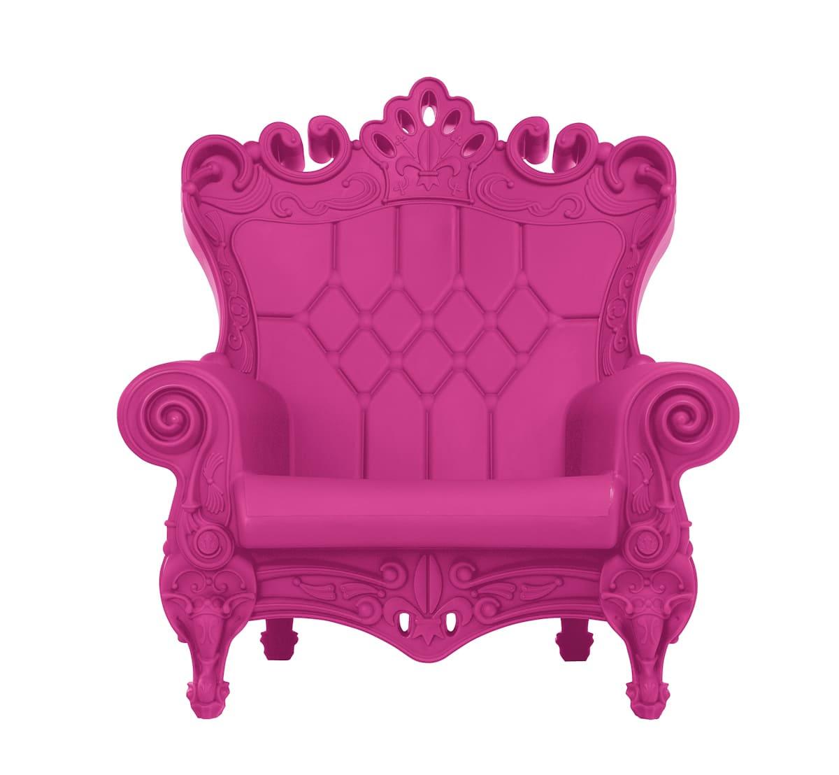 Barock Sessel Kunststoff Pink - Barock Stuhl aus Kunststoff in verschieden Farben | Design of Love