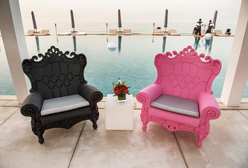 Barock Sessel Kunststoff Terrasse - Barock Stuhl aus Kunststoff in verschieden Farben | Design of Love