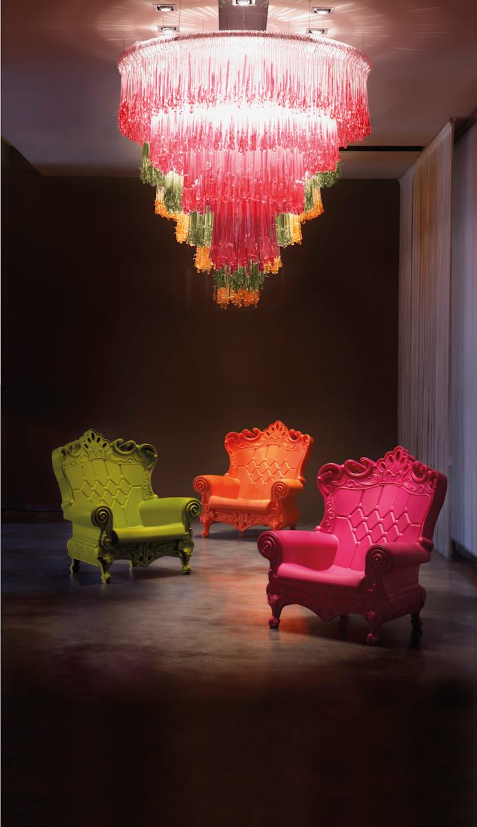 Bunte Barock Sessel Kunststoff - Barock Stuhl aus Kunststoff in verschieden Farben | Design of Love