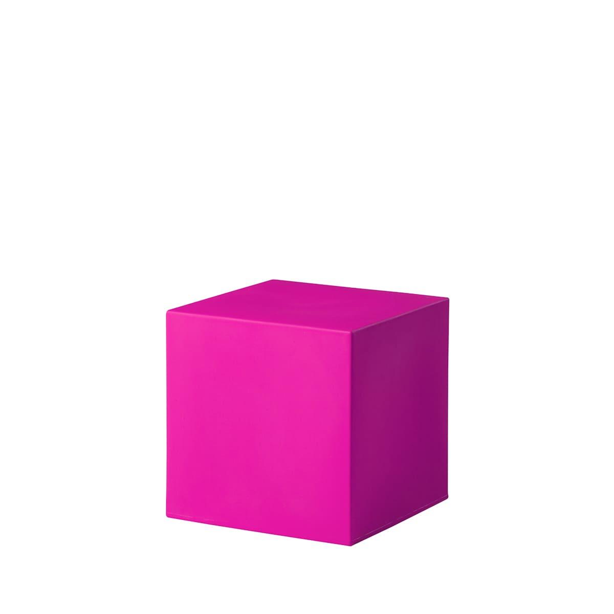 Pinke cube würfel Bunte Wuerfel Outdoor - Cube Würfel beleuchtet
