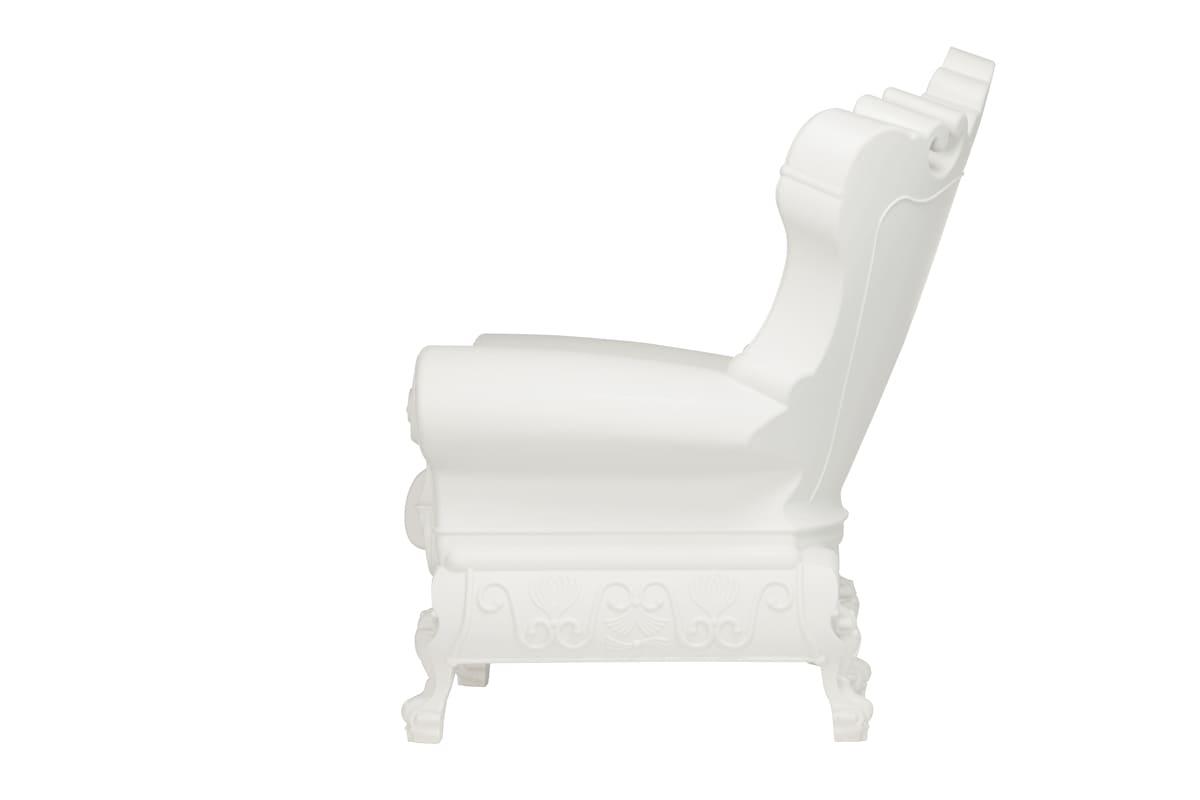 Slide Design Barock Sessel Kunststoff - Barock Stuhl aus Kunststoff in verschieden Farben | Design of Love