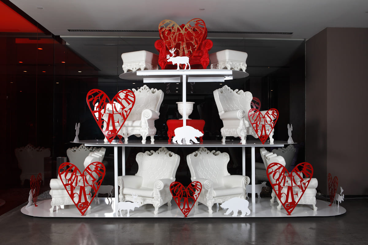 Terrassenmoebel Barock Sessel Kunststoff - Barock Stuhl aus Kunststoff in verschieden Farben | Design of Love