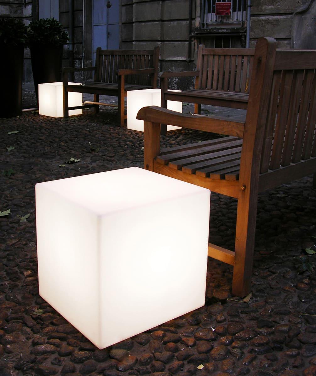 Würfel Cubo Leuchtwürfel für draußen - Cube Würfel beleuchtet