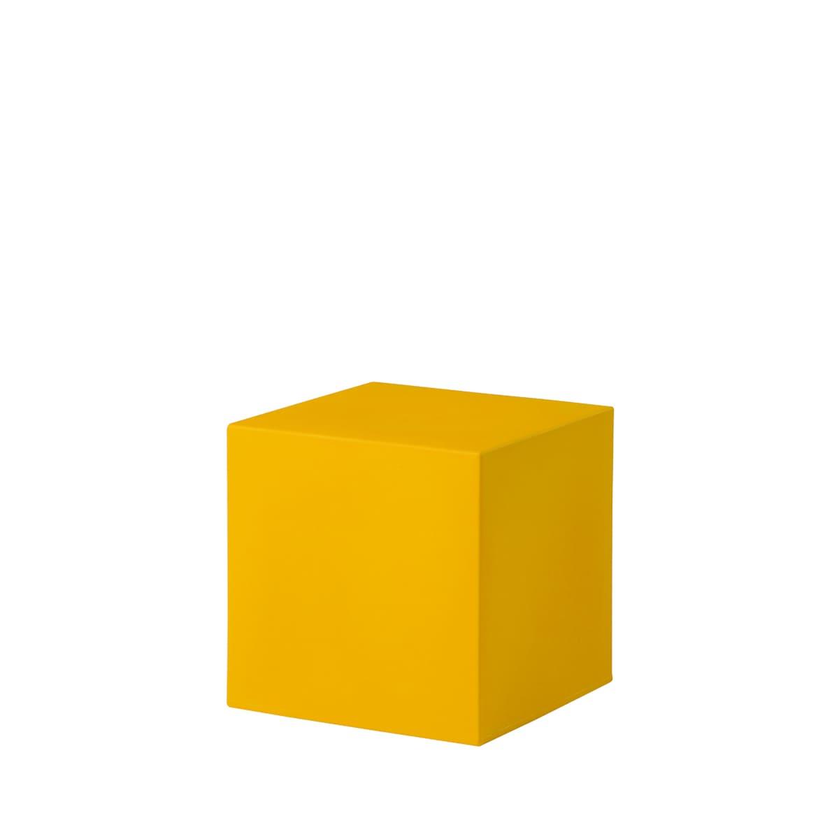 cube würfel gelb Bunte Wuerfel Outdoor - Cube Würfel beleuchtet