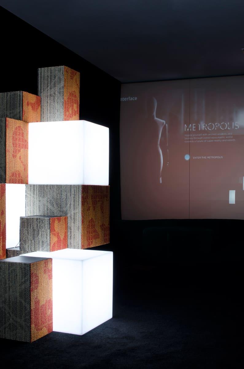 cube würfel weiss - Cube Würfel beleuchtet