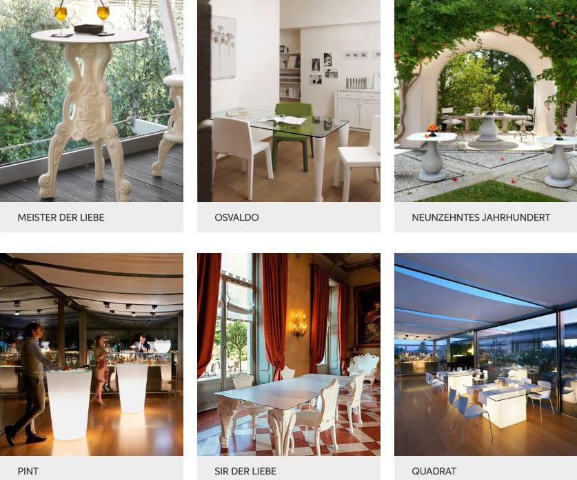 exklusive möbel terrasse beleuchtet modern - Terrassenmöbel Wetterfest